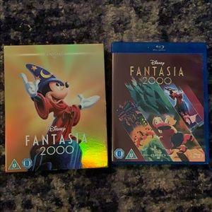 Disney Fantasia 2000 Blu-Ray DVD